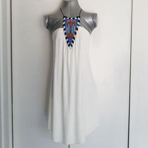 Dresses & Skirts - Thayslosangeles XS white beaded dress